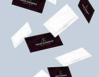 Julie Clément - Branding and collateral