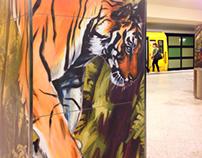 """Berlin Underground Station """"Hermannstrasse"""""""