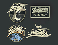 Client mockups. Salt Water Protectors