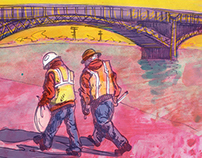 St. Louis Riverfront: Documentary Sketches