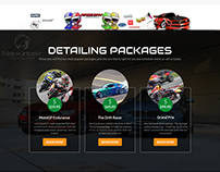 Sports Website Design Create By Nexstair Technologies
