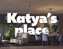 Katya's Place | Interior visualization