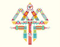 Diseño e Ilustración Logo personalizado para camiseta