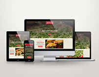 Mo's Pizza - Responsive Website