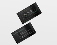 Ben Groneman Business Card