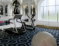 Kiev Apartment, Gym