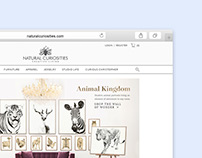 Natural Curiosities Website