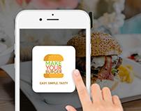 Make Your Burger (UX-Design)