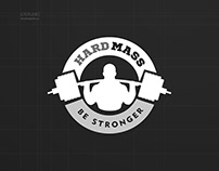 Логотип для Hard Mass - все для бодибилдинга