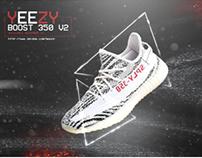 Yeezy Boost 350 V2 Advertisement