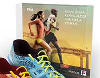 PDV Fila - Nova Linha Kenya Racer