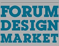 """Poster """"FORUM DESIGM MARKET"""""""