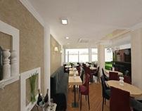 Design interior restaurant mediteranean