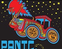 Panic Stricken (Widespread Panic Tribute) - Gig Poster