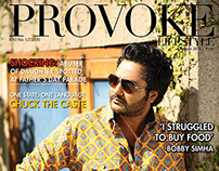 Provoke - Actor Bobby Simha