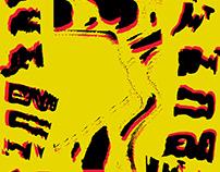 Xerography Typographic Posters