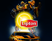 Lipton Camaro Social Media Post