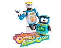 The adventures of Compass and Alarm Clock