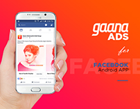 Gaana ADS for Facebook APP