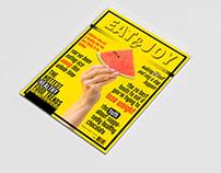 ejercicio maquetación portada de revista