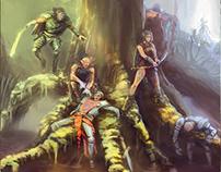 Wood elves squad