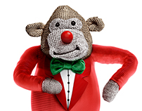 PG Tips - Red Nose Day Monkey