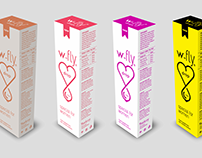 W-FLY Drops Packaging Design