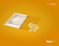 Real & Dados /// Pela Metade