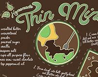 They Draw and Cook: Thin Mint Recipe