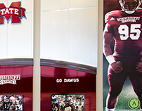 Mississippi State University Football Graphics