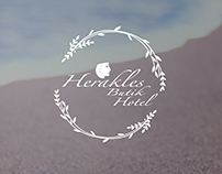 Herakles Butik Hotel - Brand Identity & Web Design