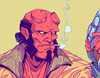 Hellboy - Anung Un Rama - Print/Poster