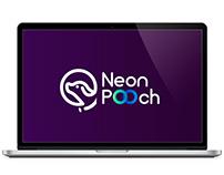 Logo: Neon Pooch