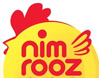 Nim rooz egg logo design