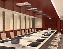 Qatar,Doha Municipality Conference Room Design
