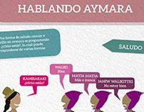 Infografía - Hablando Aymara - Saludos