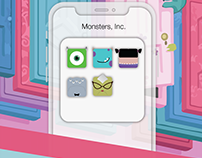 Monsters, Inc. /// icons collection