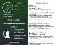 My Graphic Design Resume