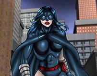 STALKER, created by Bradley Potts - comicbook heroine