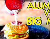 Molten Aluminum vs McDonald's Big Mac