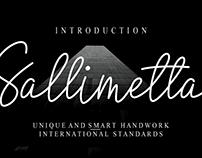 FREE | Sallimetta Font