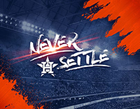 Never Settle - Astros 2018 Regular Season Campaign