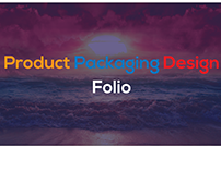 Product Packaging Design Folio