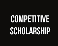 Competitive Scholarship 2016
