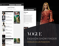 Vogue - Fashion Show Finder
