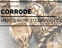 Jewelry Can Corrode — Here's How to Prevent It