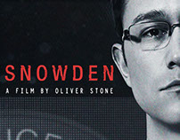 SNOWDEN : \\ a Oliver Stone Film \\ Final Keyart
