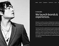 The minimalist - Minimalist WordPress Theme