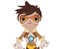 Overwatch Tracer Fan Art