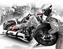 Chopard Superfast / Porsche - image retouching